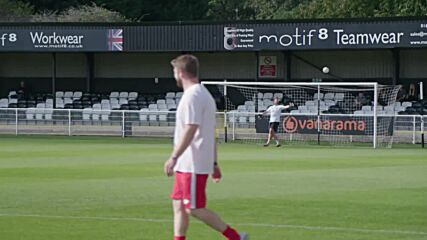 UK: 'Head for change' - First football game with no headers played in Spennymoor