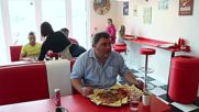 I [won't] be back! English Cafe serves Terminator Two breakfast too big to stomach