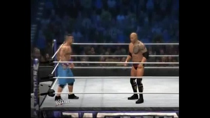 Wwe 12-the Rock vs John Cena(by Styfers32)