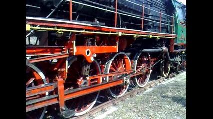 Парен локомотив серия 01.23 Атракционен влак