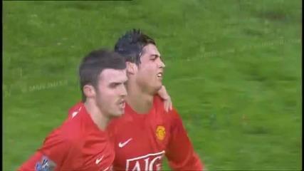 Cristiano Ronaldo - All Goals (2007 - 08 season) - [hq]