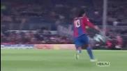 Велик момент в историята на футбола! Моментът в който Меси замести Роналдиньо!