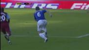 Everton 2-2 Aston Villa ( Baines )