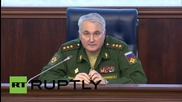 Russia: Syrian opposition giving Russian military 'terrorist target' coordinates - MoD