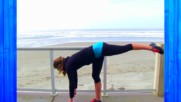 Butt and Thigh Barre Workout Video - Beach Barre Lower Body Workout for Long Lean Legs