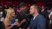 Renee Young interviews Ll Cool J and Chris Odonnell Raw (10.03.14)
