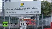 Франция: Пожарникари се борят с огромен пожар в покрайнините на Париж
