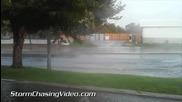 Дъжд причинява наводнение в Рино , Невада 20.7.2014
