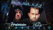 Wrestlemania 29 The Undertaker Vs Cm Punk Official Matchcard Hd
