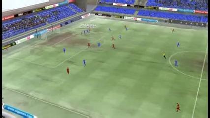 Football Manager 13 - Монтана - Банско 3:2