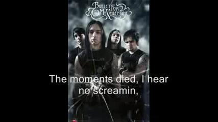 Tears Dont Fall - Bullet For My Valentine - Lyrics