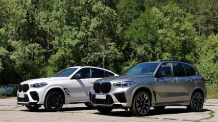 Bad Boys: BMW X5M и X6M Competition - Auto Fest S04EP01