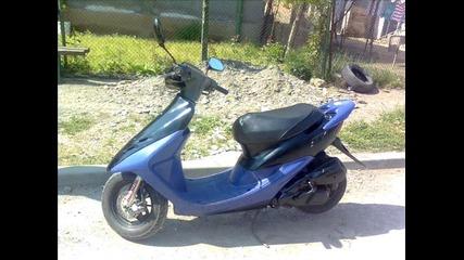 моята бивша Honda Dio Af35 Zx