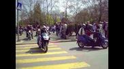 Преброяване на дивите зайци, мотосезон 2012 Бургас