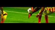 Финта на Робиньо срещу Барселона