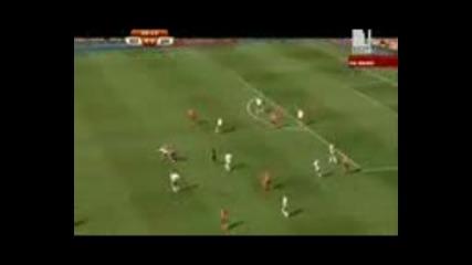 World.cup.14.06.2010. Nethderlands - Denmark - полувреме 1
