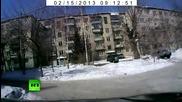 Метеорит се разби в Русия - Урал (15.02.2013)