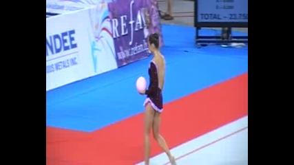 Силвия Митева-топка- Световна Купа- София- Квалификации-20.8.2011г.