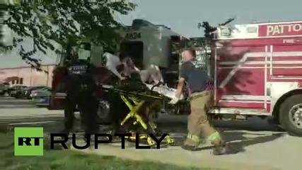 САЩ: Множество арести бяха направени във Фъргюсън след като протестиращи блокираха пътищата