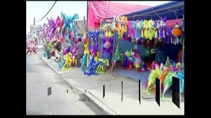 В обектива: Коледните тържества в Мексико