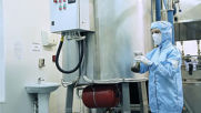 Factory production Vertera Organic Russia