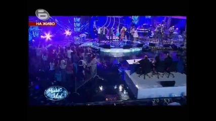 Music Idol 3 - Великденските пожелания на Марин