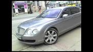 Bentley По Улиците На София