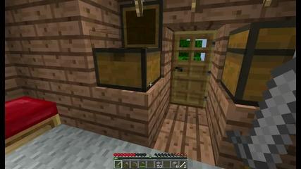 Minecraft C.1 Eп 2 Живеем като маймуни !?!