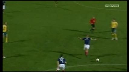 Литва - Шотландия 0:0
