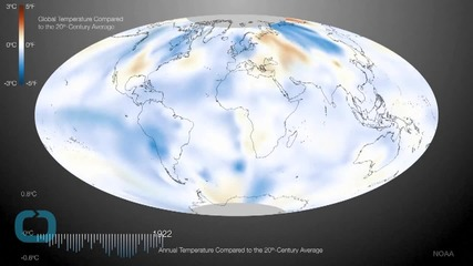 The Only Really Cold Place on Earth Last Month Was the Eastern U.S.