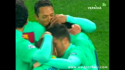 12.04.2011 - Шампионска лига - Шахтьор Донецк 0 - 1 Барселона гол на Лионел Меси