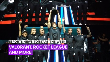 Esports news to start the week: Valorant, Rocket League and more!