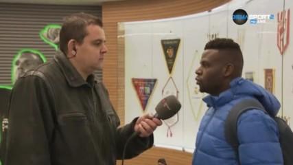 Бабатунде Адениджи: Дойдохме за 3-те точки, но не стана
