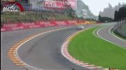 Интересно съревнование между различните мотоспорт дисциплини F1 vs Gp2 vs Gp3 vs Porsche Supercup