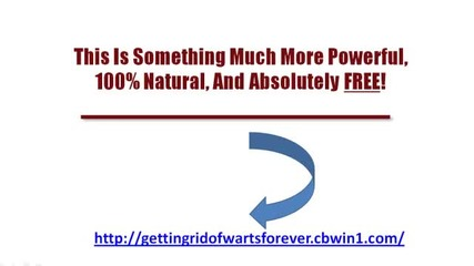 Getting Rid Of Warts Forever - Removal of Warts and Plantars Warts