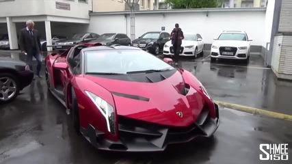 Да натовариш автомобил за $4.5m - Lamborghini Veneno Roadster