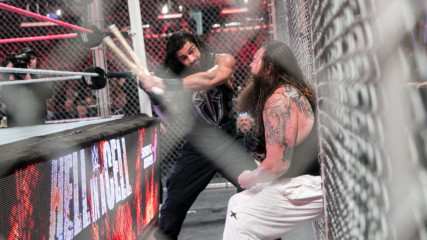 Roman Reigns vs. Bray Wyatt – Hell in a Cell Match: Hell in a Cell 2015 (Full Match)