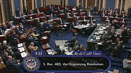 USA: Senate approves impeachment trial rules as all Dem amendments blocked