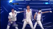 (hd) Infinite - Infinitize + The chaser (goodbye stage) ~ M Countdown (21.06.2012)