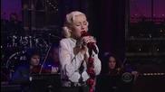 Christina Aguilera - You Lost Me (late Show David Letterman) Hd