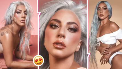 Никога не е била по-женствена и нежна: Гага съблазнява с нови снимки