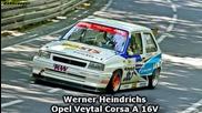 Opel Corsa A 16v - Werner Heindrichs - Bergrennen Unterfranken 2012