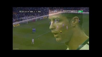 Фантастичен Гол На Cristiano Ronaldo Срещу Real Sociedad...