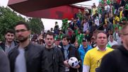 France: Swedish and Irish fans left disappointed following 1-1 draw