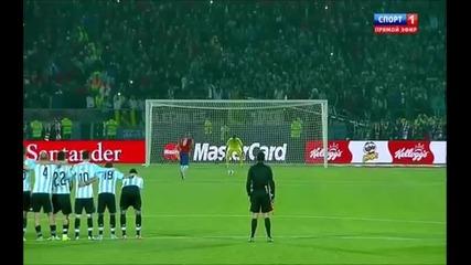 Чили – Аржентина 0:0 (4:1 след дузпи)