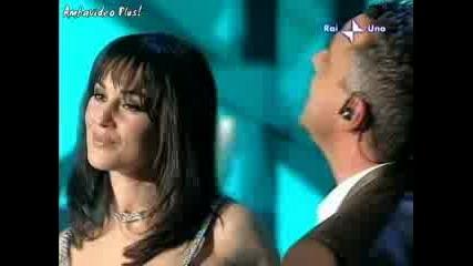 Monica Bellucci, Eros Ramazzotti, Fiorello