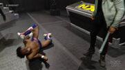 "Isaiah ""Swerve"" Scott savagely attacks Leon Ruff: WWE NXT, Feb. 24, 2021"