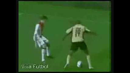 Ronaldo messi Robinho king of the stepovers 2008 09