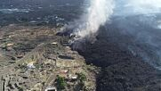 Spain: Military Emergency Unit use drones to film evolving situation at Cumbre Vieja volcano
