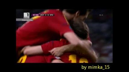 Испания Шампион на евро 2012 най-добрите